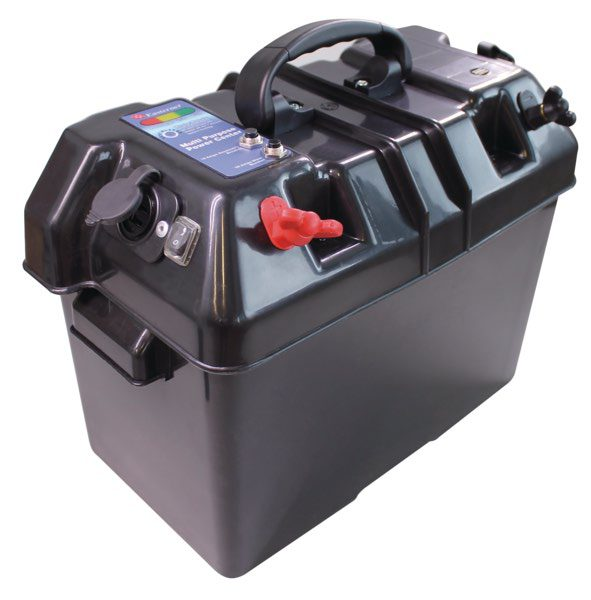 Power battery box with USB charger