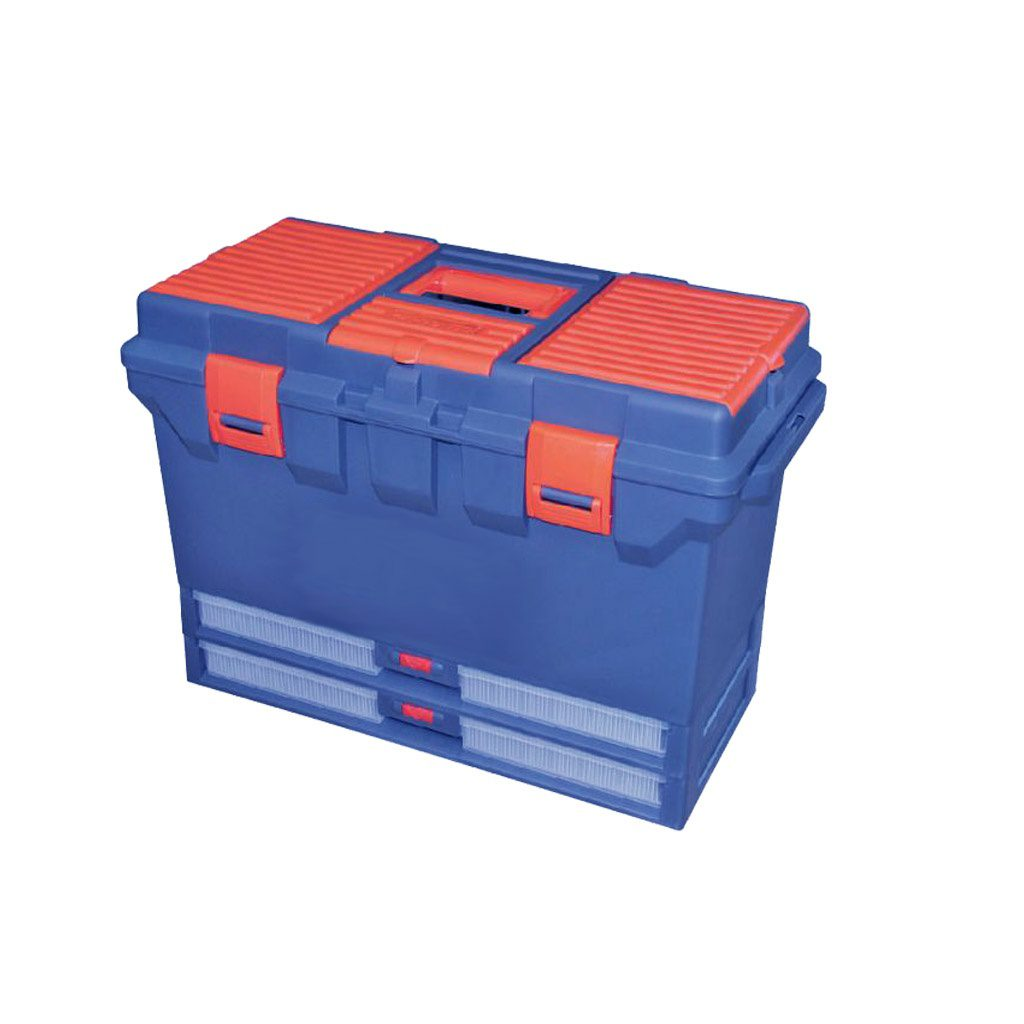super tool box with two drawers
