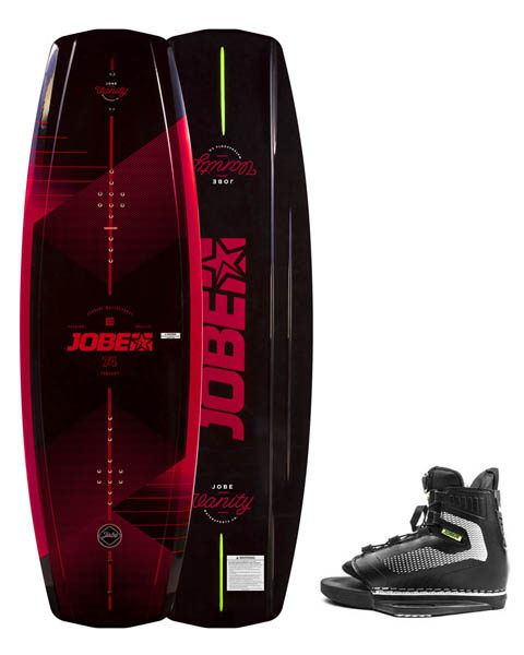 JOBE VANITY WAKEBOARD 131 & MAZE BINDINGS PACKAGE