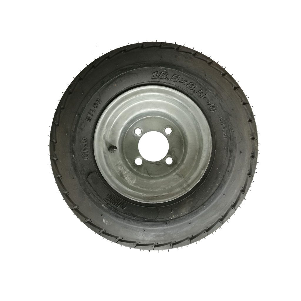 Tubless Tire with Rim 4 Hole
