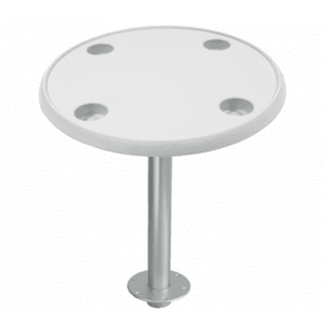 Round Table Stowable Removable Fixed 27