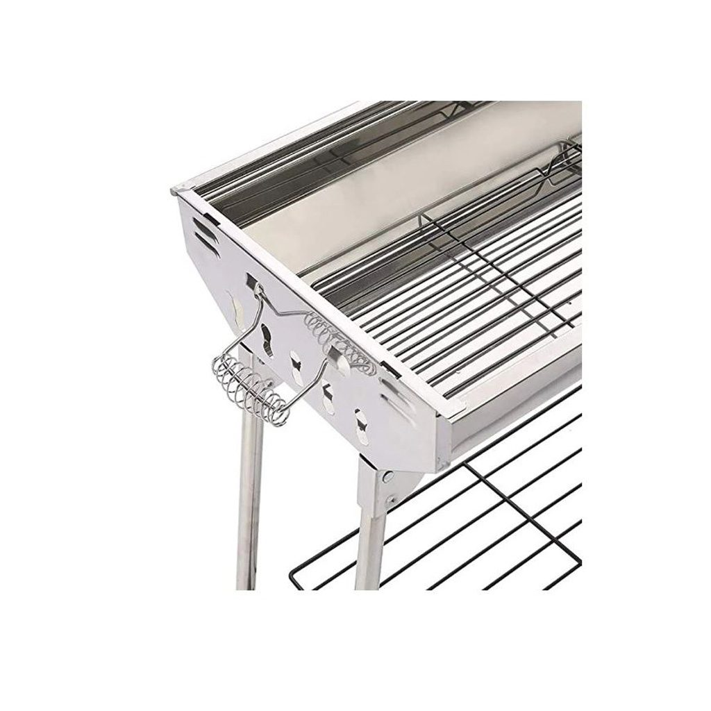 Stainless Steel Outdoor Portable Foldable BBQ Grill Table