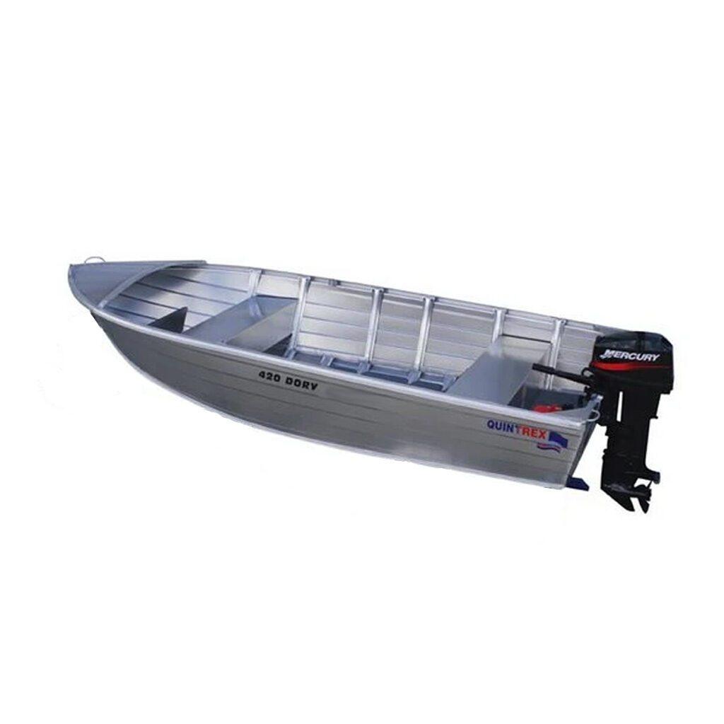 Quintrex 420 Dory 14 FT Aluminum Boat